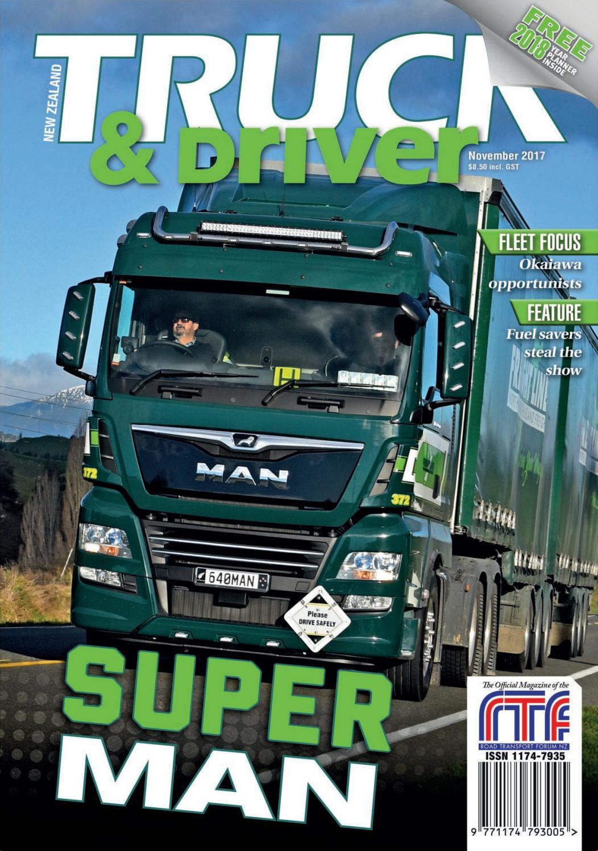 NZ Truck & Driver November 2017 by NZ Truck & Driver - issuu