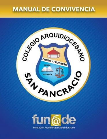 Manual De Convivencia 2018 Colegio Arquidiocesano San