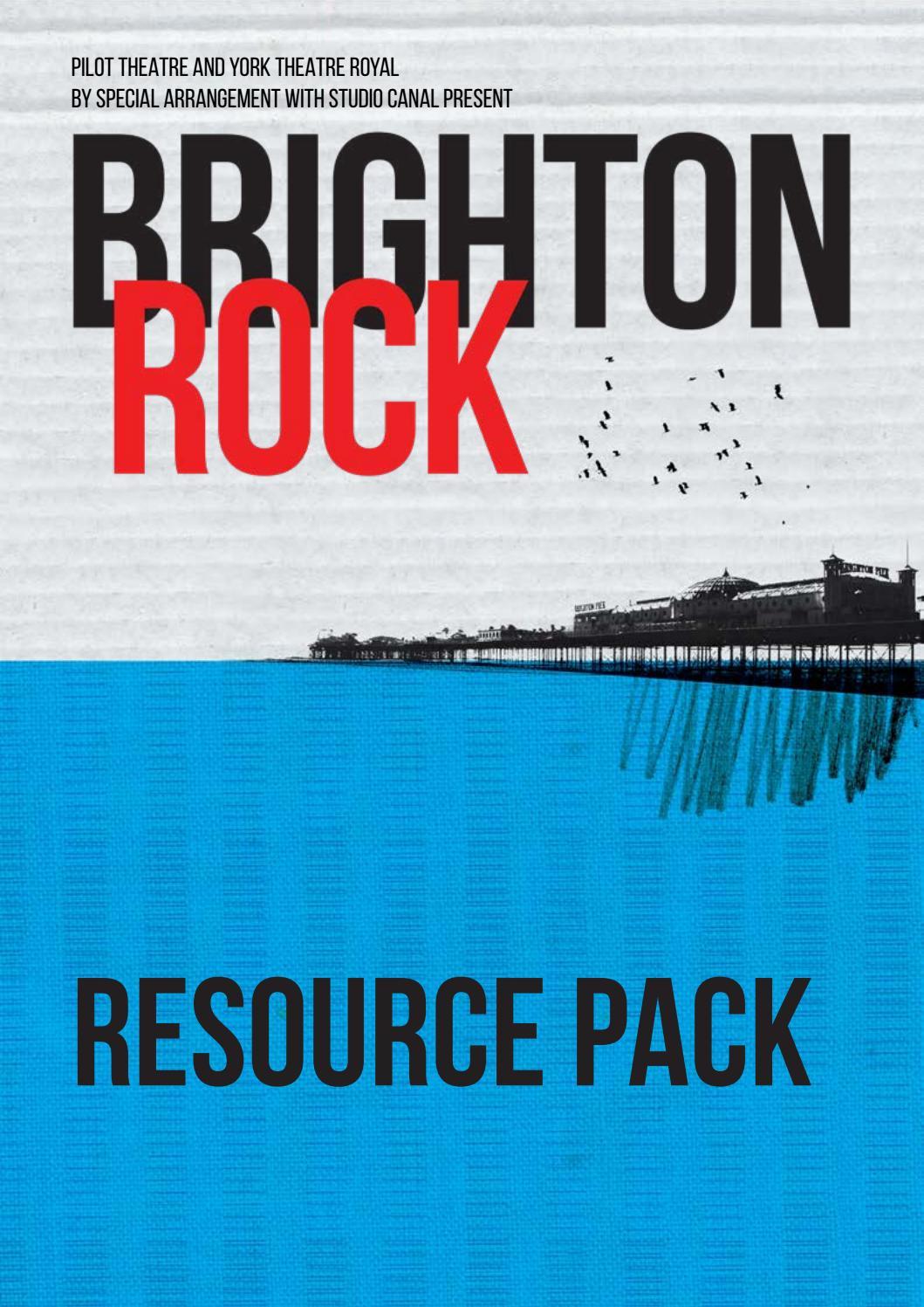 Book brighton rock