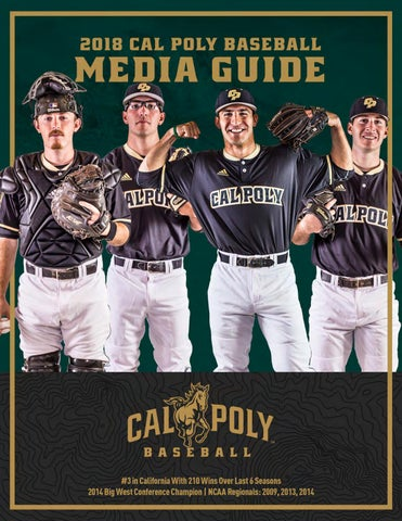 41242a7b9f2 2018 Cal Poly Baseball Team Information Guide by Cal Poly Athletics ...