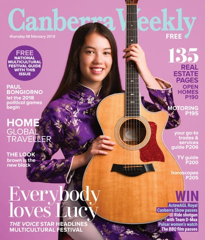 08 February 2018 by Canberra Weekly Magazine - issuu 3bed16ac22