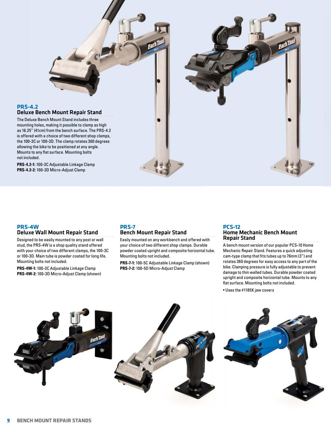 Park Tool 100-3D Micro Adjust Repair Stand Clamp