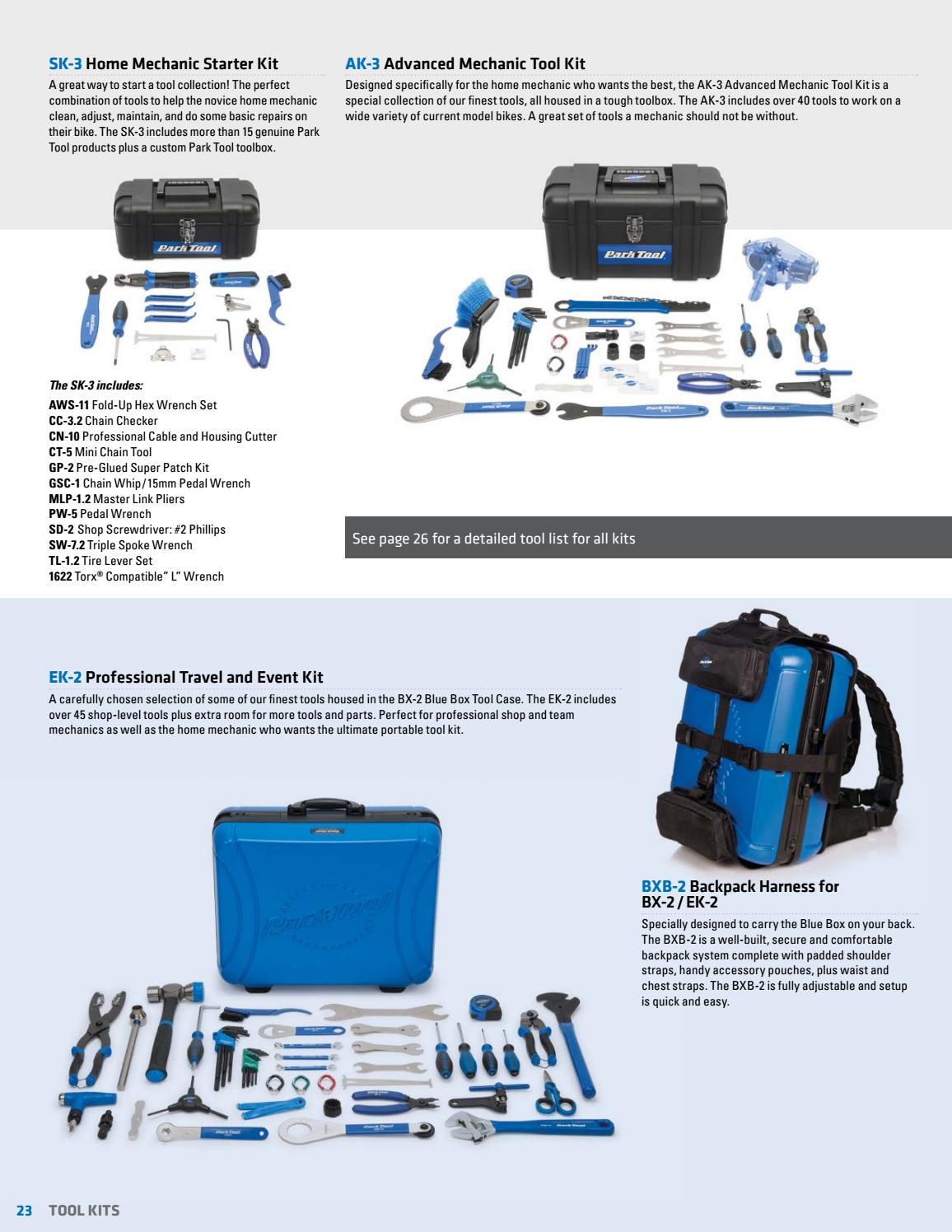 Park Tool SK-3 Home Mechanic Starter Kit