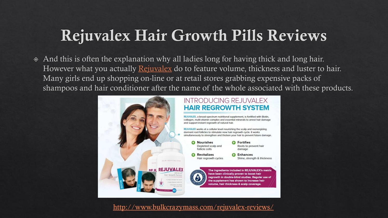 How Does Rejuvalex Hair Growth Pills Works And Where To Buy By