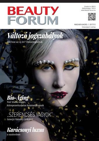 f9ce28cd60eb Eladási ár: 890 Ft Előfizetésben: 799 Ft www.beauty-forum.hu