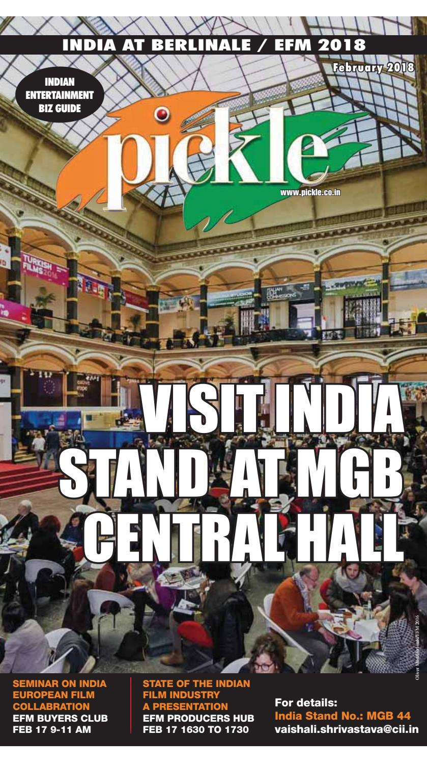 Pickle Feb 2018 Berlinale EFM Edition by Pickle -- Indian