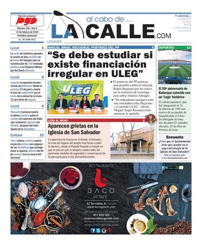 95c9fdc283836 Leganes 160 by al cabo de... La Calle - issuu