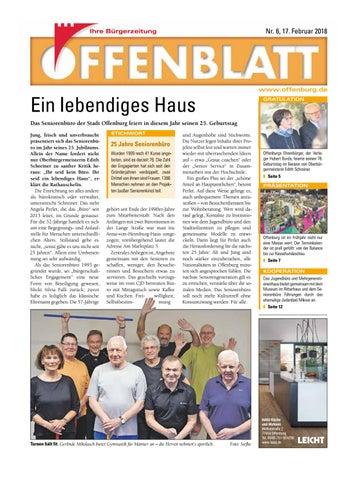 Screen offenblatt 06 by Offenburg Offenblatt - issuu