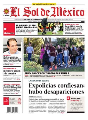252d1e76f El Sol de México 15 de febrero del 2018 by El Sol de México - issuu