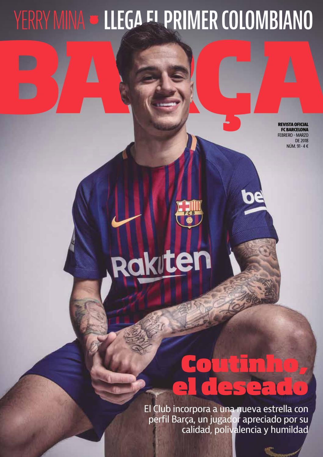 REVISTA BARÇA - Nº91 - CASTELLANO by FC Barcelona - issuu