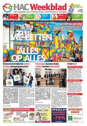 HAC Weekblad week 07 2018 by HAC Weekblad issuu