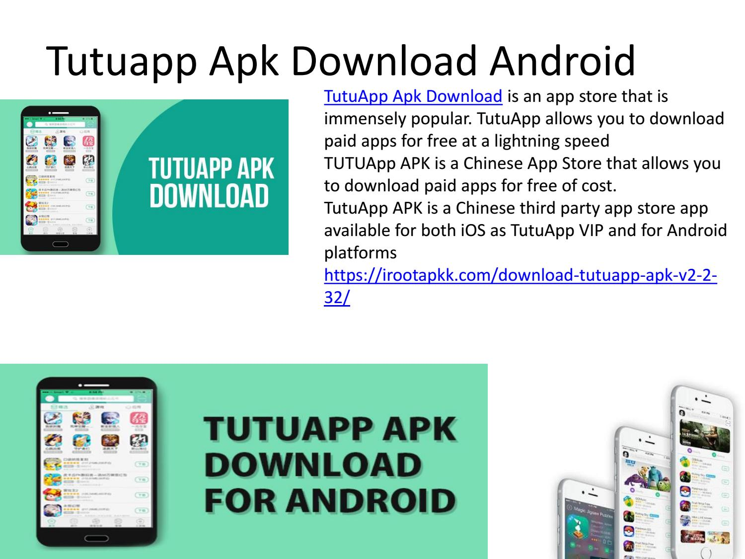 Tutuapp apk download android output by udvebs - issuu