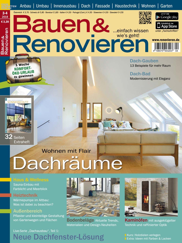 Bauen & Renovieren 3/4-2018 by Fachschriften Verlag - issuu