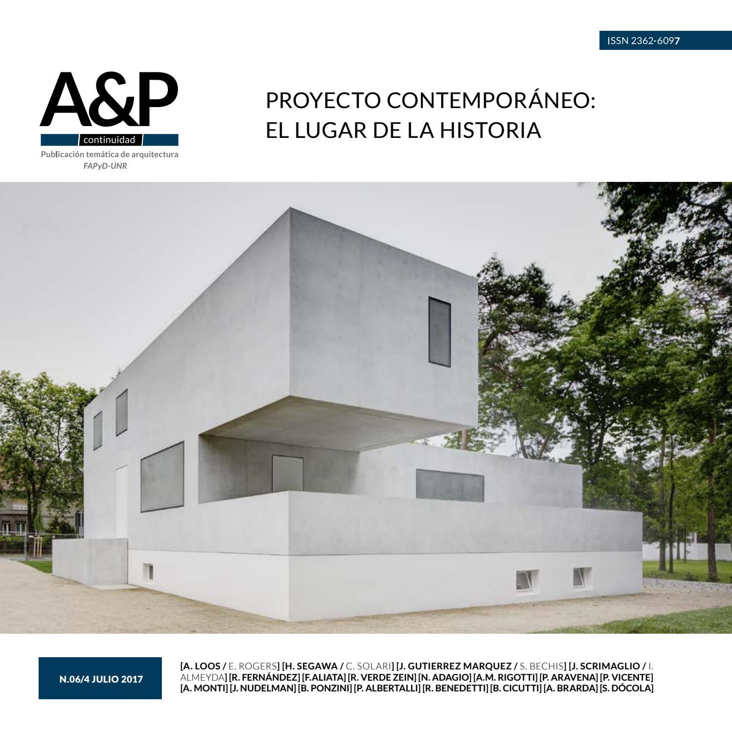 A&P Continuidad #6 by FAPyD UNR - issuu