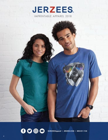 5c0abe6b2d1 2018 JERZEES® Activewear Catalog by Fruit of the Loom® Activewear ...