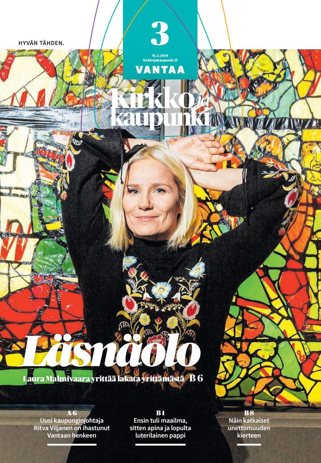 Kirkko ja kaupunki 2018 03 vantaa by Kirkko ja kaupunki - Issuu