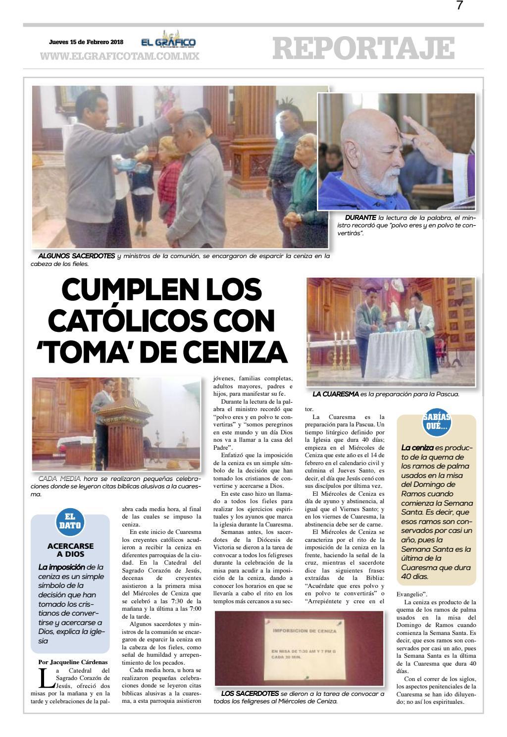 Edición 15 Febrero 2018 By El Gráfico Issuu