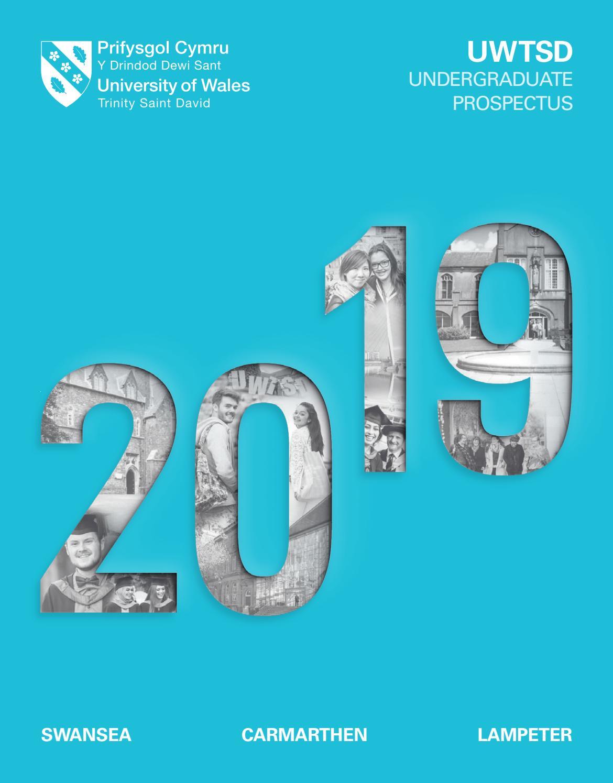 Undergraduate Prospectus 2019 By University Of Wales Trinity Saint