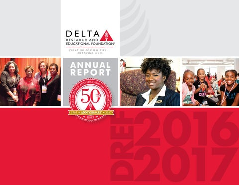 Delta Annual Report 2016 17 By Delta Research Educational