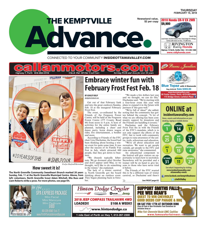 Kemptville021518 By Metroland East