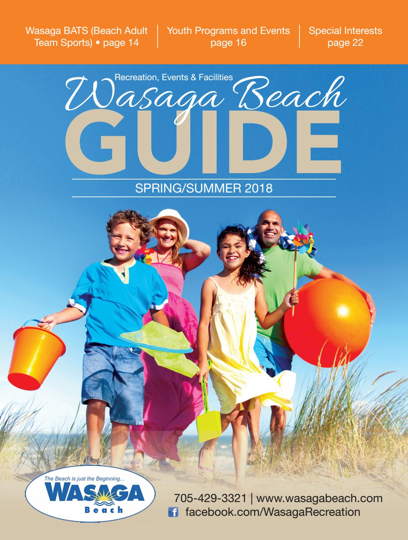 wasaga beach guide spring \u0026 summer 2018 by goodlife magazine