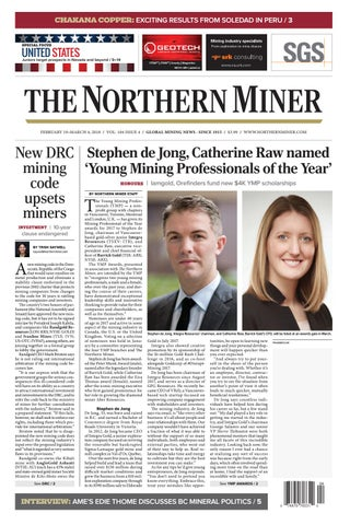 5df9c6a0b The Northern Miner September 3 2018 Issue by The Northern Miner ...