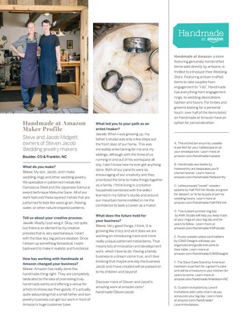 Page 6 of Q&A with Steven Jacob Wedding Jewelry Makers