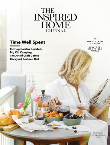 The Inspired Home Journal No01 By The Inspired Home Journal Issuu
