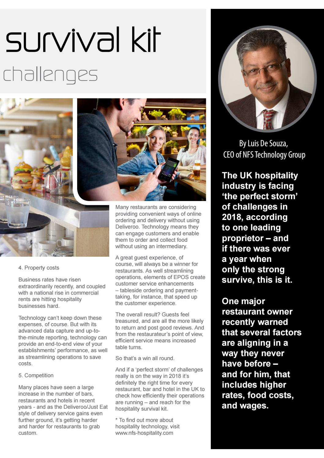 Hotelier & Hospitality Design - March 2018 by Jet Digital
