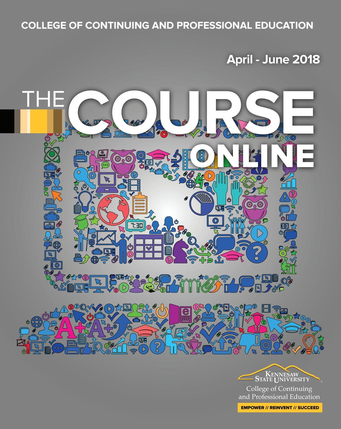 CCPE Online Course Catalog April - June 2018 by KSUCCPE - issuu