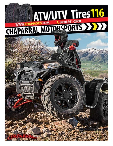 Chaparral motorsports atvutv tires catalog 2018 by chapmoto page 1 publicscrutiny Gallery