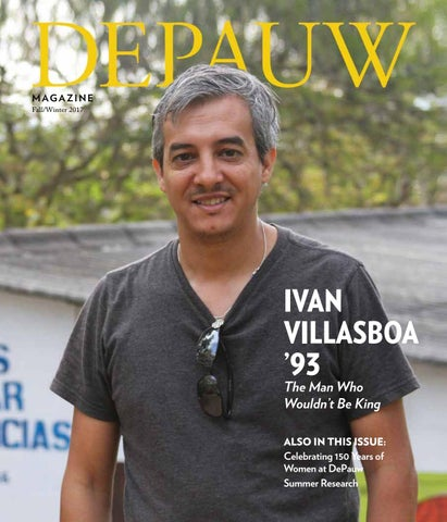 1063e192d23 DePauw Magazine Winter 2017 by DePauw University Publications - issuu