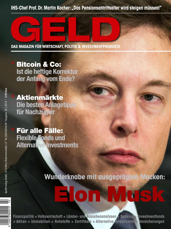 GELD-Magazin, Februar 2018 by 4profit Verlag GmbH - issuu