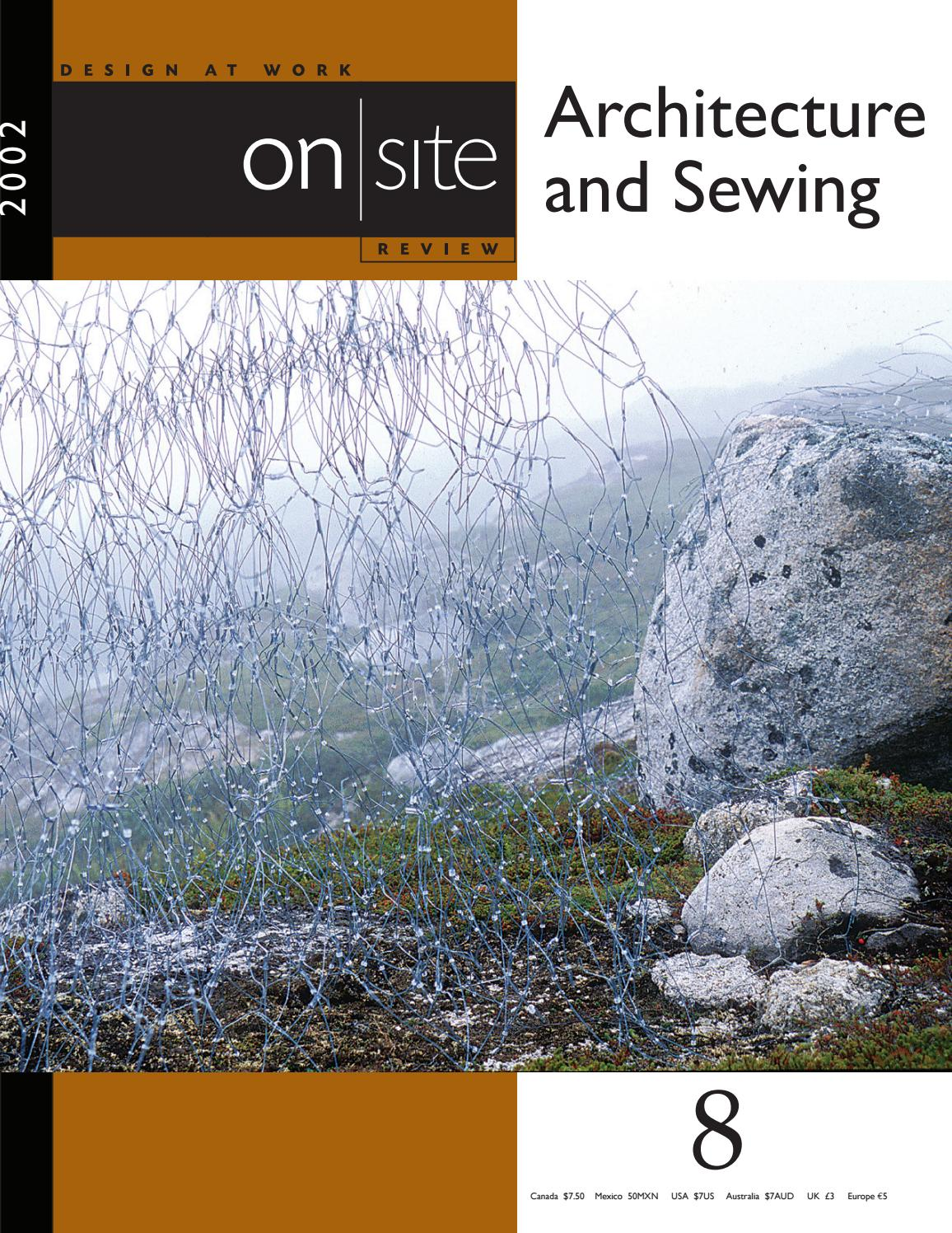 Attache Cadre Sans Percer on site 8 : architecture and sewingstephanie white - issuu