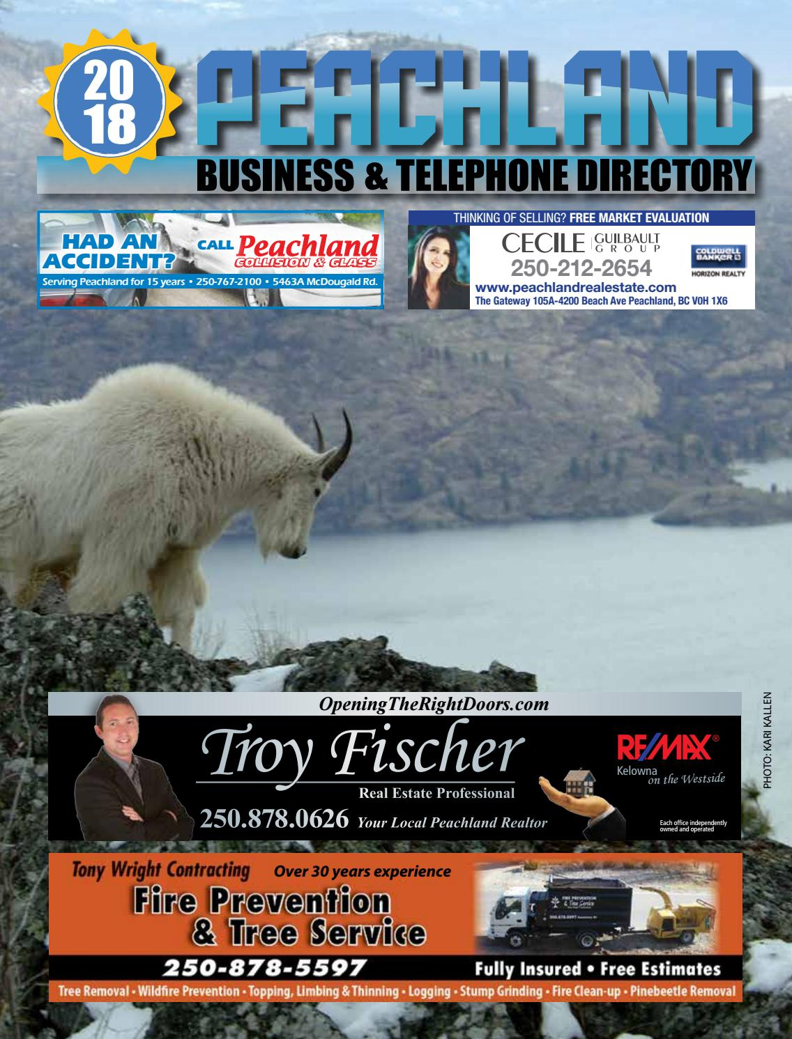 Peachland 2018 phone book lo res by Mike Rieger - issuu