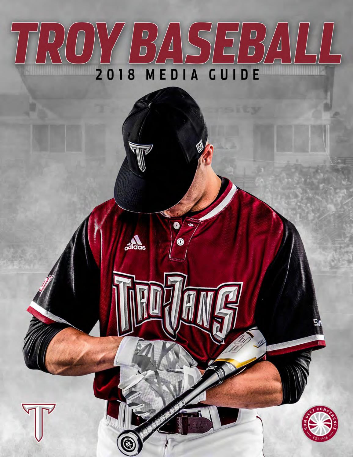8225d37a67e 2018 Troy Baseball Media Guide by Troy University Athletics - issuu