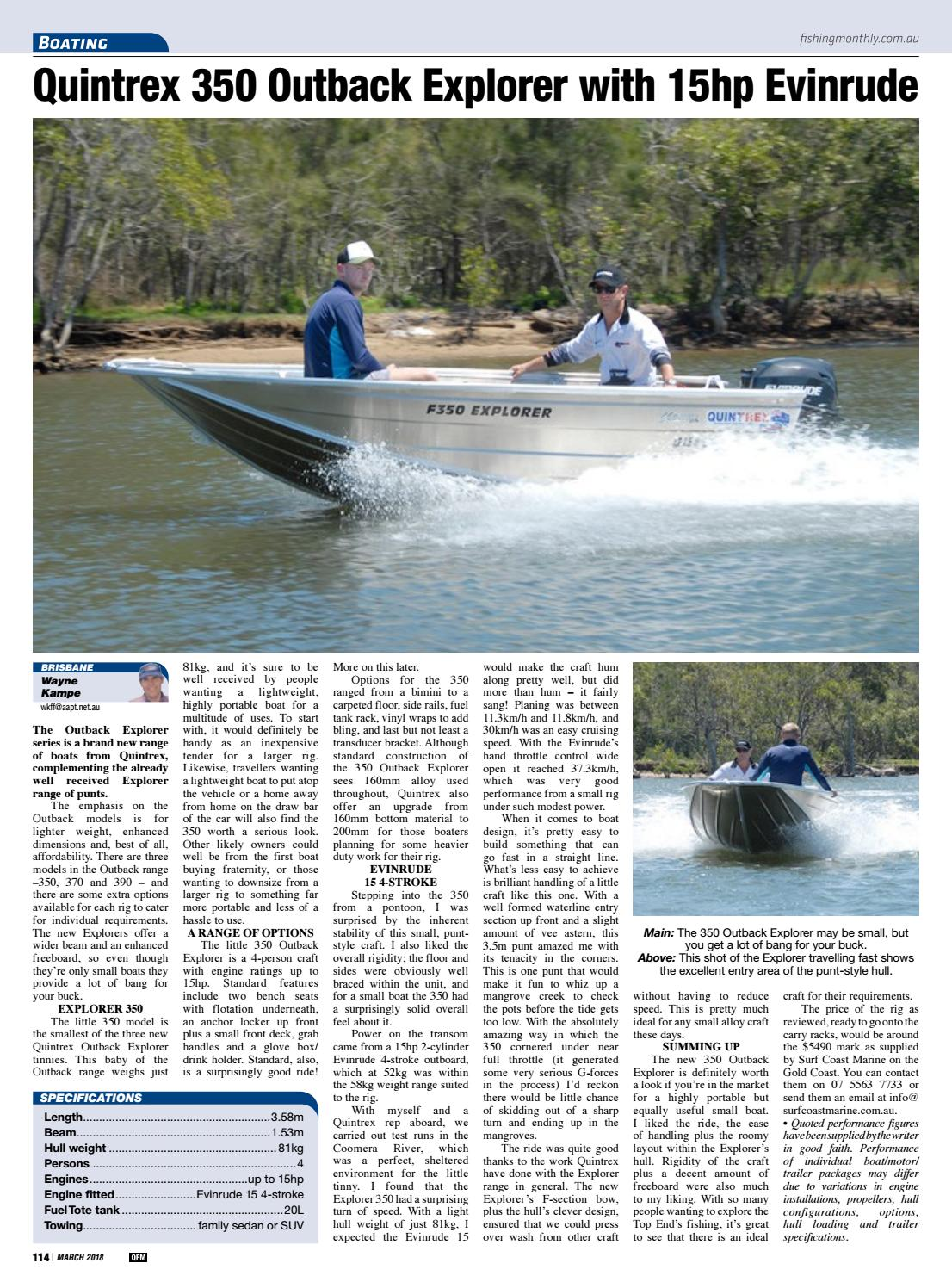 Queensland Fishing Monthly March 2018 by Fishing Monthly - issuu