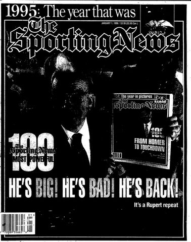 57eedaf6c463 The sporting news 01 01 1996 by Mexico Sports Collectibles - issuu