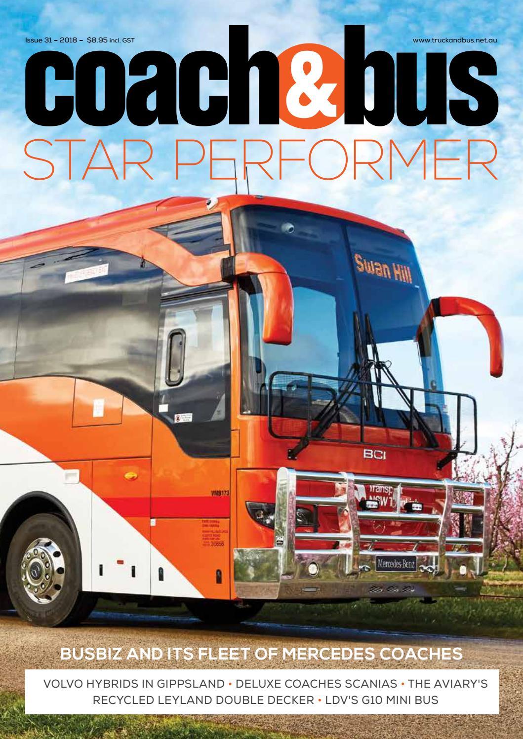 Coach & Bus issue 31 by Transport Publishing Australia - issuu