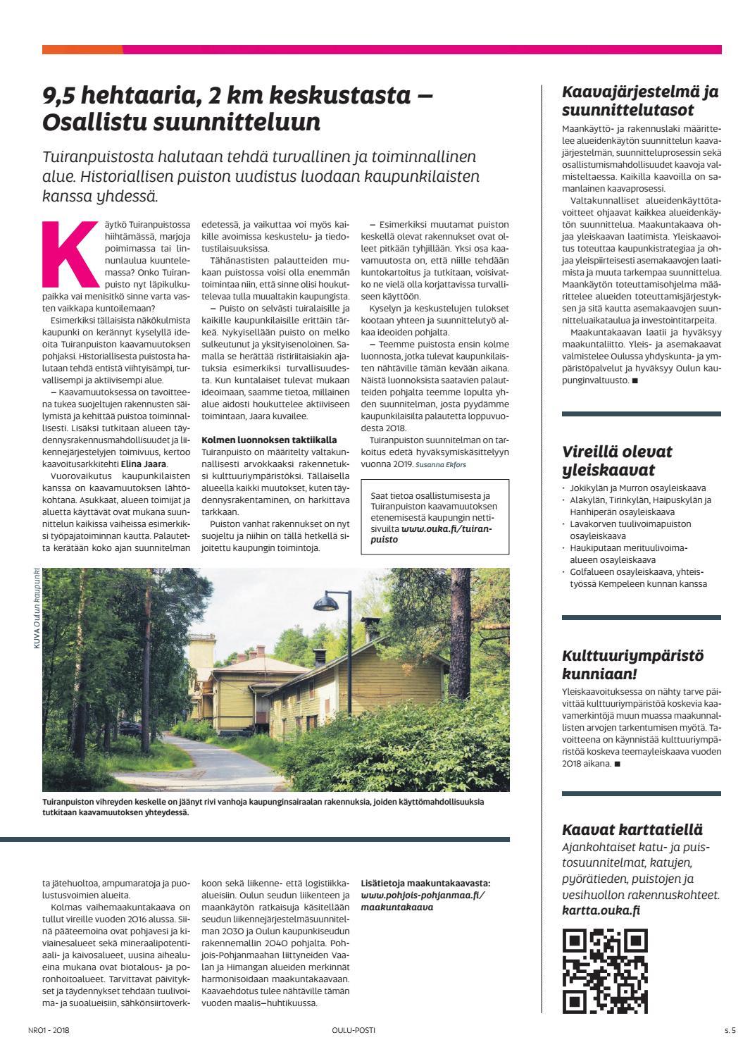 Oulu Posti 1 18 By Otavamedia Oma Issuu
