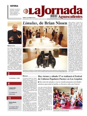 LJA16022018 by La Jornada Aguascalientes - issuu