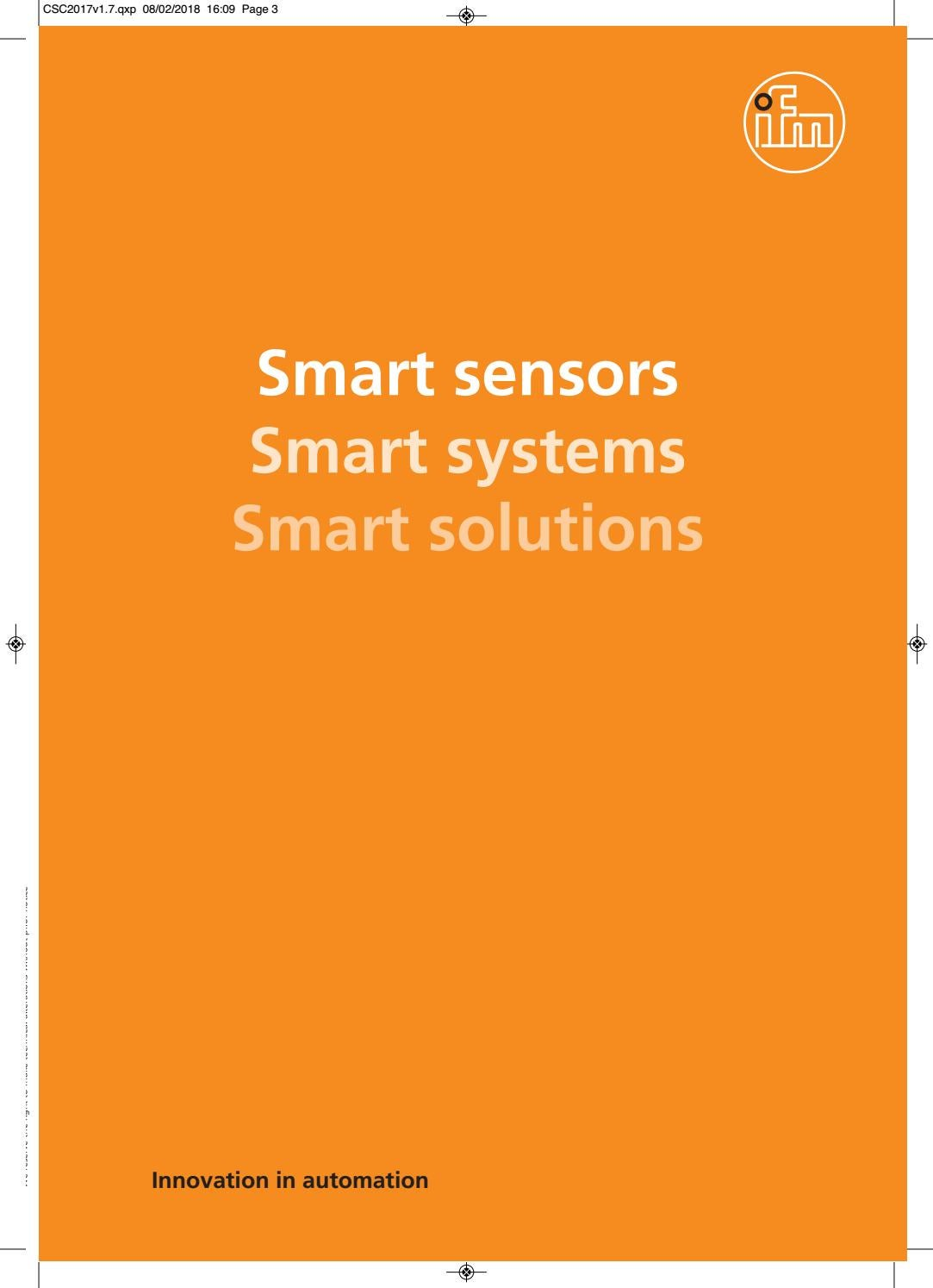 Ifm Smart Sensors Systems Solutions By Cim Online Rfid Tuned Circuit Value Switching Electrical Engineering Stack Ltd Issuu
