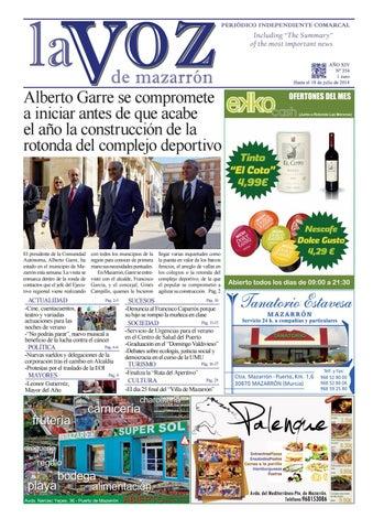 Voz354 by La Voz de Mazarrón (Periódico) - issuu 3e347daa013f