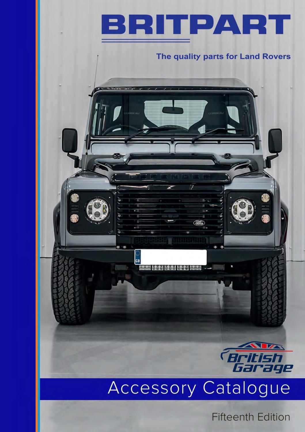 DA4649 Door Trim Fixing Kit Black Land Rover Defender 1 door