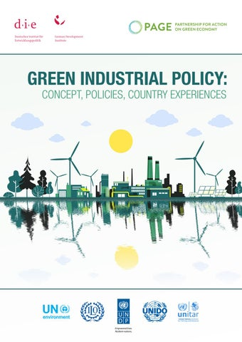 Green Industrial Policy Concepts Policies Country Experiences By