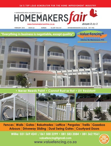 Homemakersfair Durban February2018 By Homemakers Issuu