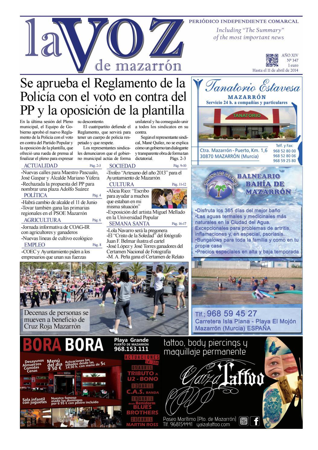Voz347 by La Voz de Mazarrón (Periódico) - issuu