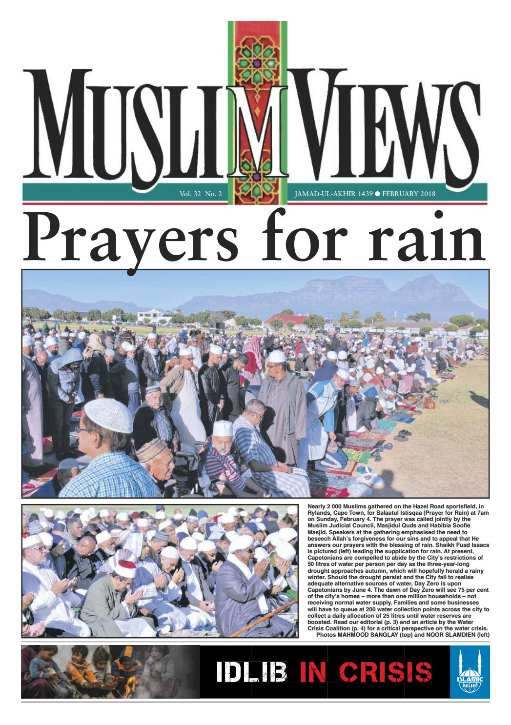 Muslim Views, February 2018 by Muslim Views - issuu
