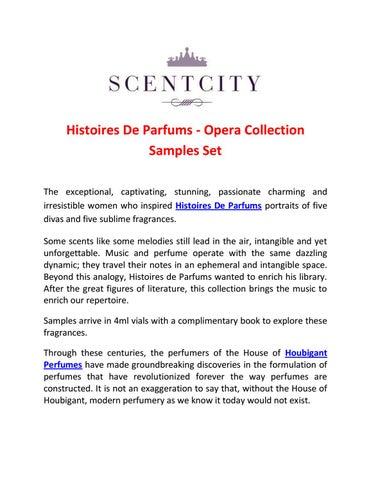 Histoires de parfums opera collection samples set by Liz