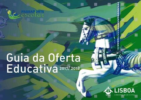 55aca18c2d5d8 Guia da Oferta Educativa Passaporte Escolar 2017 2018 - 2.ª Edição ...